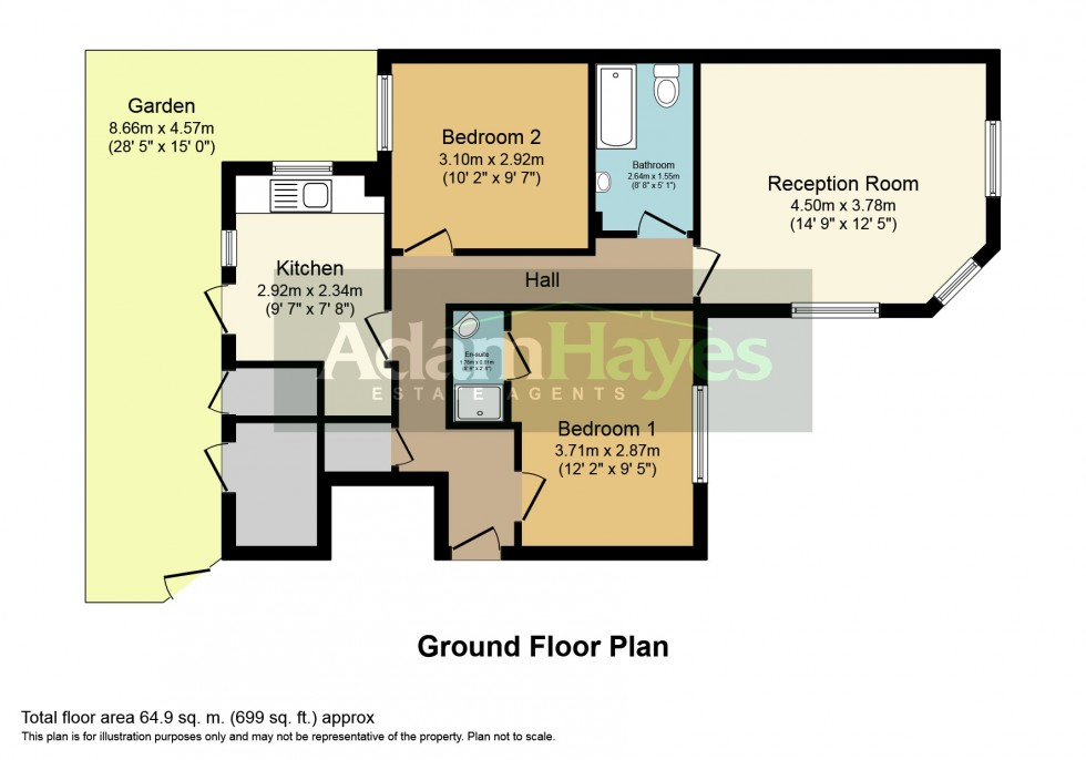 Floorplan for Manor Cottages Approach, East Finchley, N2