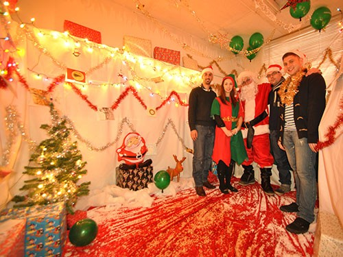 Hosting a Santa's Christmas Grotto